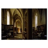 Interiors of a library in a monastery, Poblet Mona