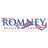 Mitt Romney 2012 Bumper Sticker