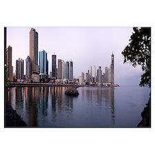 Buildings at the waterfront, Panama City, Panama