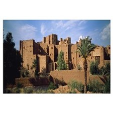 Buildings in a village Ait Benhaddou Ouarzazate Ma