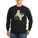 Bernese Mountain Dog Long Sleeve Dark T-Shirt
