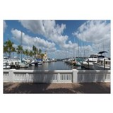 Boats at a dock Twin Dolphin Marina Manatee River