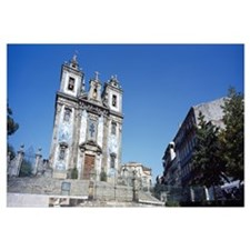 Low angle view of a church San Ildefonso Church Po