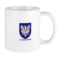 SSI - 11th Aviation Command with text Mug