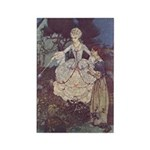 Dulac's Cinderella & Godmother Rectangle Magnet