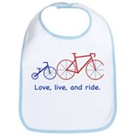 Cyclist Dad Bib
