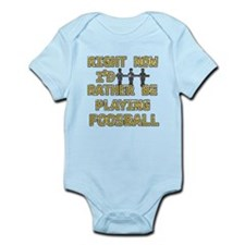 I'd rather be playing Foosball Infant Bodysuit