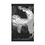 Batten's Unseen Bridegroom Rectangle Sticker