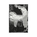 Batten's Unseen Bridegroom Rectangle Magnet