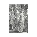 Ford's 12 Dancing Princesses Rectangle Magnet (10