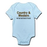 Country & Western Infant Bodysuit