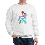 SABRA DOG(Basketball)Jewish Sweatshirt
