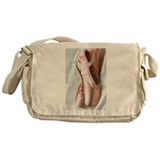 Pointe Shoes Messenger Bag