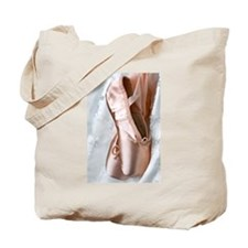 Pointe Shoes Tote Bag