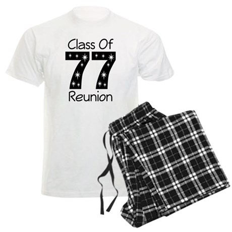 Class Of 1977 Reunion Men's Light Pajamas
