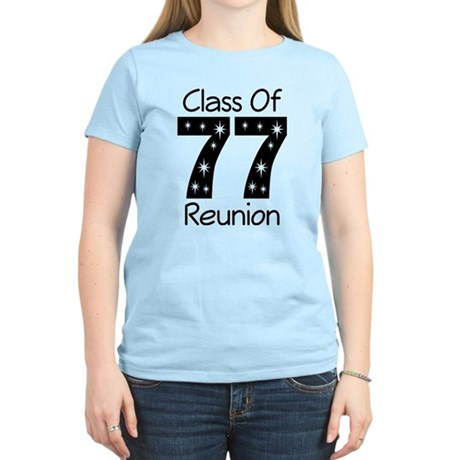 Class Of 1977 Reunion Women's Light T-Shirt