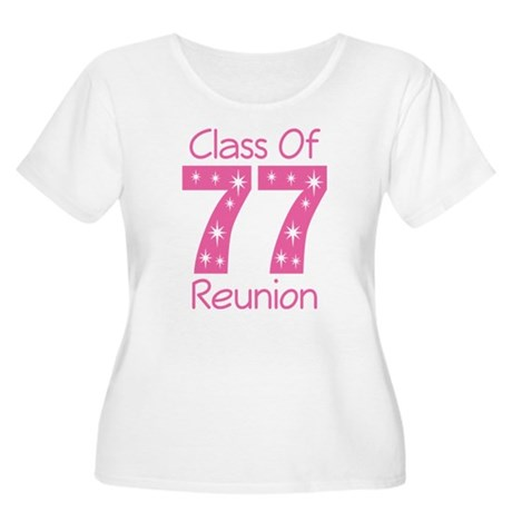 Class Of 1977 Reunion Women's Plus Size Scoop Neck
