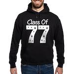Class of 1977 Hoodie (dark)