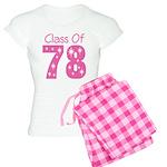 Class Of 1978 Women's Light Pajamas