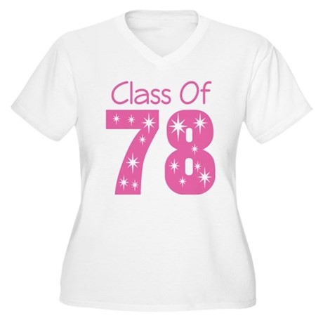 Class Of 1978 Women's Plus Size V-Neck T-Shirt