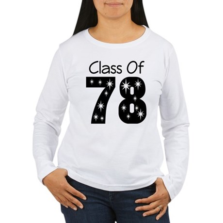 Class Of 1978 Women's Long Sleeve T-Shirt