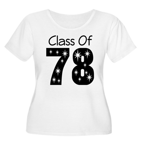 Class Of 1978 Women's Plus Size Scoop Neck T-Shirt