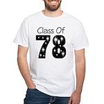 Class Of 1978 White T-Shirt