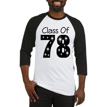 Class Of 1978 Baseball Jersey