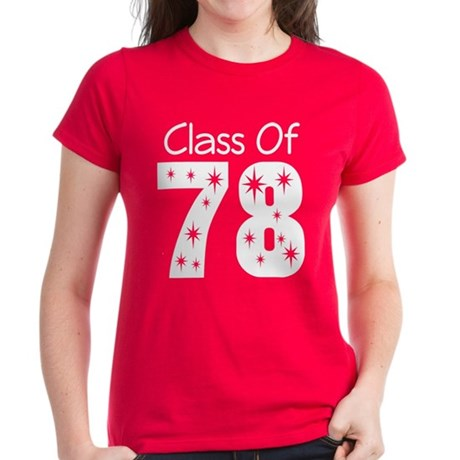 Class Of 1978 Women's Dark T-Shirt