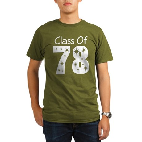 Class Of 1978 Organic Men's T-Shirt (dark)