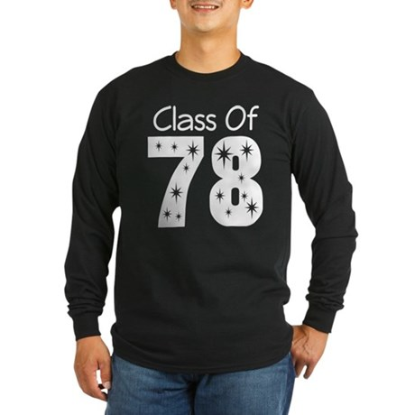 Class Of 1978 Long Sleeve Dark T-Shirt