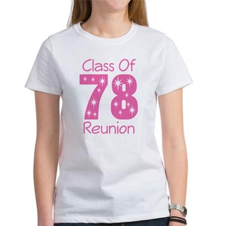 Class Of 1978 Reunion Women's T-Shirt