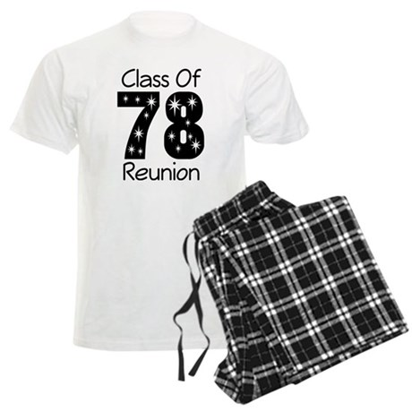 Class Of 1978 Reunion Men's Light Pajamas