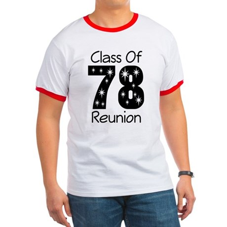 Class Of 1978 Reunion Ringer T