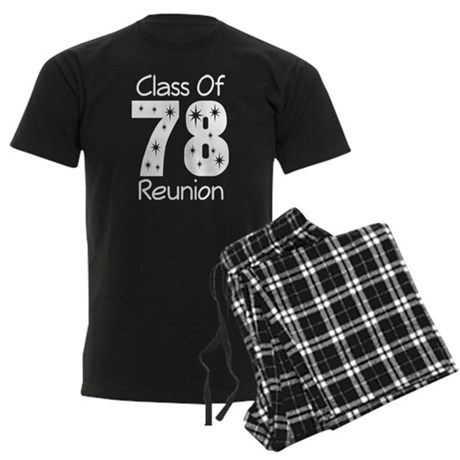 Class Of 1978 Reunion Men's Dark Pajamas
