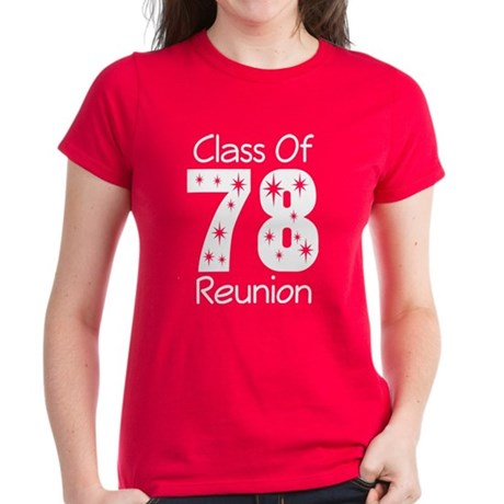 Class Of 1978 Reunion Women's Dark T-Shirt