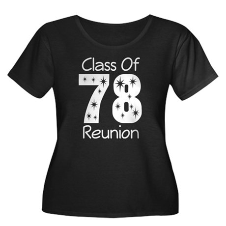 Class Of 1978 Reunion Women's Plus Size Scoop Neck
