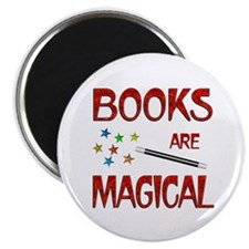 Books are Magical Magnet