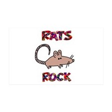 Rats Rock 38.5 x 24.5 Wall Peel