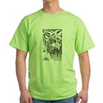 Ford's Six Swans  Green T-Shirt