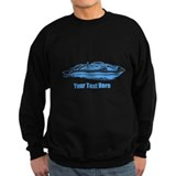 Motorboat. Add Your Text. Sweatshirt