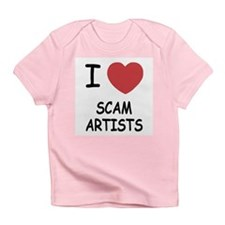 I heart scam artists Infant T-Shirt