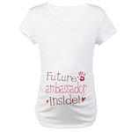 Future Ambassador Pink Maternity T-Shirt