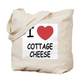 I heart cottage cheese Tote Bag