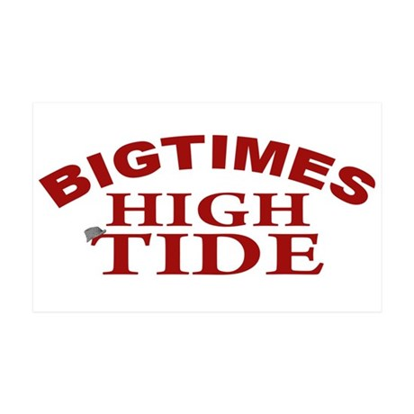 Bigtimes High Tide 38.5 x 24.5 Wall Peel