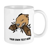 Beaver. Add your text. Coffee Mug