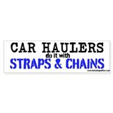 Car Haulers Do It Car Sticker