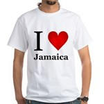 I Love Jamaica White T-Shirt