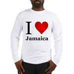 I Love Jamaica Long Sleeve T-Shirt