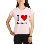 I Love Jamaica Performance Dry T-Shirt